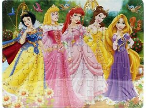 Disney Princess Snow White 40-piece Jigsaw Puzzle Drawing Toy Best Gift for Kids