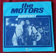 The Motors, airport / cold love, SP - 45 tours  import