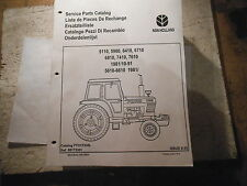 NEW HOLLAND TRACTOR 5110 5900 6410 6710 6810 7410 7610 SERVICE PARTS MANUAL