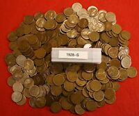 1911-P LINCOLN WHEAT CENT PENNY 50 COIN ROLL GREAT COLLECTOR COINS GIFT