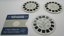 View Master Royal Mounted Police Canada RCMP 705 A B C & Booklet