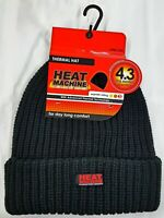 Mens & Ladies HEAT MACHINE™ 3.3 Tog Thermal Insulated Knitted Beanie Hat