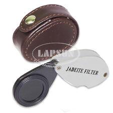 Pocket Chelsea (Jadeite) Color Filter Tester Loupe Gems Gemstones Refractometer