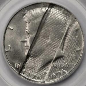 1976 D PCGS MS65 60% Struck Thru Cloth Bicentennial Half Dollar Mint Error Wow!