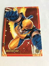 WOLVERINE MARVEL FIGURE FACTORY SERIES 2 TRADING CARD 14