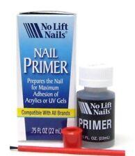 No Lift Nails Acrylic + UV Gel Nail Primer/Bonder/Base .75oz/22ml ~ blue box ~