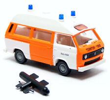 Roco 1438 VW Volkswagen T3 Bus Feuerwehr neutral Baby Notarzt NAW NEF 1:87 H0
