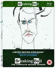 BREAKING BAD - SEASON 2 (LIMITED EDITION STEELBOOK) [BLURAY] 3A - NEW & SEALED