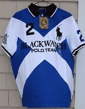 NWT- Polo Ralph Lauren Men's Blackwatch Crest Polo/Rugby Shirt Size XS