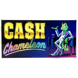 Cash Chameleon Aristocrat Poker Pokies Gaming Machine Advertising Artwork 1996