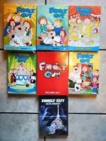 Family Guy DVD Set Lot Volumes Seasons 1 2 3 4 6 7 Blue Harvest Comedy