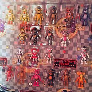 "Five Nights at Freddy's FNaF Funko 5"" Posable Action Figures (READ DESCRIPTION)"