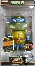"CLEAR LEONARDO Teenage Mutant Ninja Turtles Hikari Sofubi 6"" Vinyl Figure 2014"