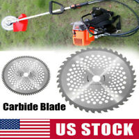 10 Inch Carbide Tip Brush Cutter Trimmer Weed Eater Blade Bore Dia. 40/80T Teeth
