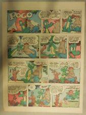 Pogo Sunday by Walt Kelly from 6/9/1957 Tabloid Size!