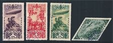 SOWJETUNION USSR TANNU TUVA LOT USED ZEPPELIN HORSE AIRCRAFT