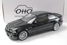 1:12 OTTO BMW M3 CSL (E46) Coupe black Ltd. 999 pcs. NEW bei PREMIUM-MODELCARS