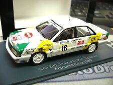 AUDI 200 Quattro Turbo Rallye Gr.A Schwarz LUK Akropolis 1989 NEO Resin SP 1:43
