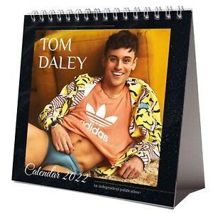 Tom Daley 2022 Desktop Calendar NEW Desk Swimmer Diver Olympics