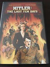 """Hitler: The Last Ten Days"" Alec Guinness, Simon Ward (DVD, 1973, Reg 1) *VGC*"
