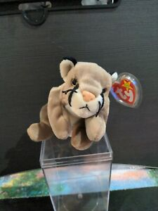 Vintage 1998 Ty Beanie Babies 1 ERROR ON SWING TAG Retired with Tags Canyon
