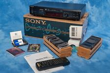 Sony Mds-Je520 MiniDisc Deck with Tons of Media