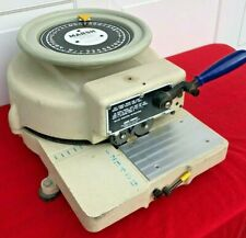 Marsh Company Model H 1/2 In. Stencil Machine Cutter - Exc & Clean!