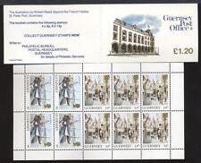 GUERNSEY - Libretto - 1985 - £. 1,20 - Vedute dell'Isola - Uffici postali -