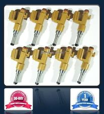 Set of 8 - NEW DENSO Fuel Injectors for 08-13 Toyota Lexus 4.6L 5.7L 232500S020