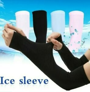 Outdoor Cycling Sun Protection Arm Sleeves Bicycle Ice Arm Support Protector