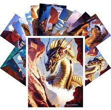 24 Postkarten Set * Knight Princesses und Dragons by Brothers Hildebrandt CC1127