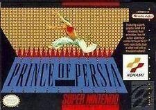 ***PRINCE OF PERSIA SNES SUPER NINTENDO GAME COSMETIC WEAR~~~