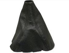 SEAT ALTEA Modello 2004 - 2011 Cuffia Leva Cambio 100% Vera Pelle Colore Nero