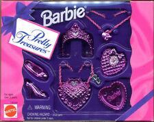 Barbie Pretty Treasures Metallic Pink Accessory Set (NEW)