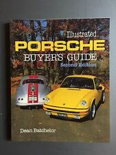 "1983 Porsche Book ""Illustrated Porsche Buyer's Guide"" by Dean Batchelor RARE!!"