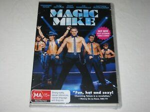 Magic Mike - Channing Tatum - Brand New & Sealed - Region 4 - DVD