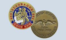 USS Seadragon SSN584 Submarine Challenge Coin USN Navy
