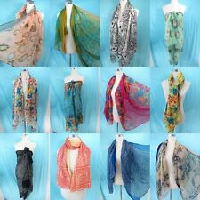 *US Seller*10pcs large long scarves gifts wholesale sarong boho vintage retro