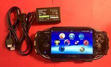 Sony PlayStation Vita Launch Edition Black Handheld System (PCH-2009 ZA11)
