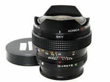 Konica UC Fish-Eye Hexanon AR 15mm F2.8 Lens Excellent from Japan