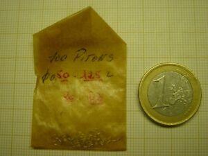 LOT DE 100 PITONS DIAMÈTRE 0,50 MM X PAR 1,25 MM  POUR SPIRAUX PLATS OU BRÉGUET