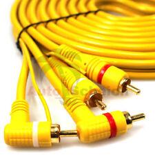 Rca Cable 5m Remoto Tubo Amplificador Conector Chinch Adaptador Enchufe Vehículo