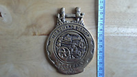 Morchard Bishop Vintage Rally 2012 collectable brass plaque / horse brass