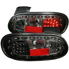 ANZO L.E.D TAIL LIGHTS BLACK FOR 98-05 MAZDA MIATA