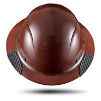 Lift Safety HDF-15NG Dax Full Brim Fiberglass Composite Hard Hat - Natural
