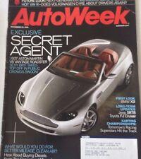 AutoWeek Magazine BMW X3 Jeep SRT8 FJ Cruiser November 20, 2006 080217nonrh