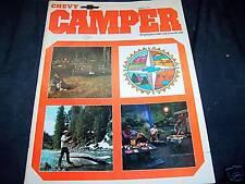 1973 CHEVY CAMPER Catalog book LQQK