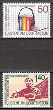 Liechtenstein Mi.Nr. 945-946** (1988) postfrisch/Europäische Kampagne