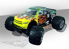 MONSTER TRUCK MEGA-P MXT-5 MOTORE A SCOPPIO 32cc RADIO 2.4ghz RTR 4WD 1:5 HIMOTO