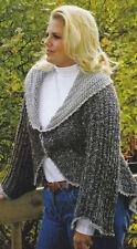 Crochet Pattern ~ LADIES SWIRL CARDIGAN Sweater Jacket ~ Instructions
